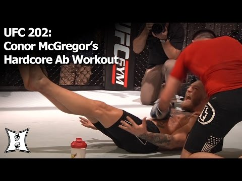 UFC 202: Conor McGregor's Hardcore Six-Pack Ab Workout (HD) #TheMacLife