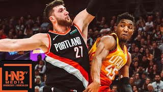 Utah Jazz vs Portland Trail Blazers Full Game Highlights | 01/21/2019 NBA Season