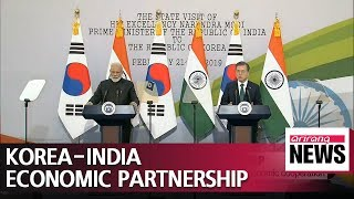 Korea and India economic partnershp: significance and economic effect