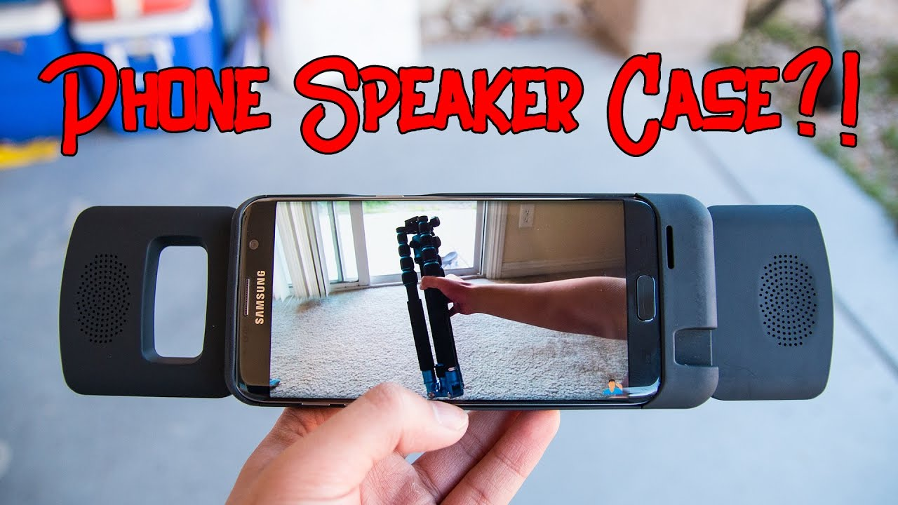 Phone Case With Speakers!? - BassCase Review