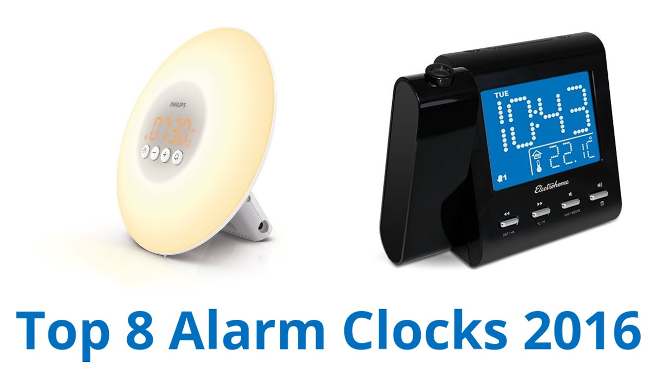 Best Alarm Clocks YouTube - Best alarm clocks