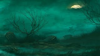 Ambient Halloween Music - The Misty Wastelands