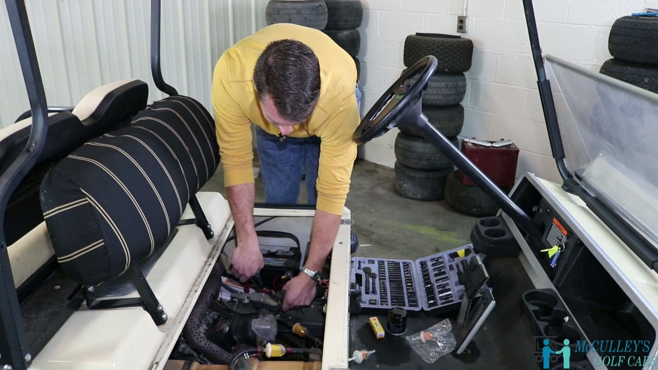 How to Change the Fuel and Air Filters on a Club Car DS