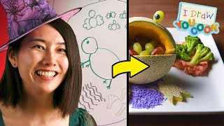 Can These Chefs Turn This Witch Drawing Into A Real Dish? • Tasty