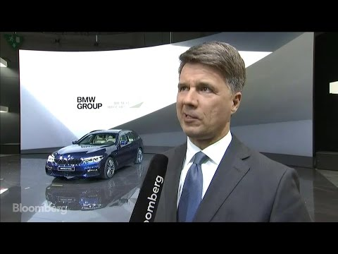 BMW CEO on Product Lineup, Sales Forecast