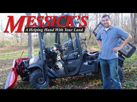 Messick's Review of the Kubota RTV X1100 Utility Vehicle