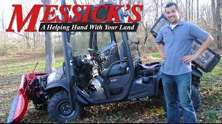 Messick's Review of the Kubota RTV X1100 Utility Vehicle