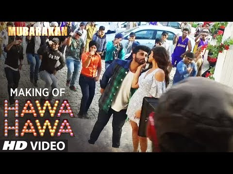 Making of Hawa Hawa Song | Mubarakan | Anil Kapoor, Arjun Kapoor, Ileana D'Cruz, Athiya Shetty