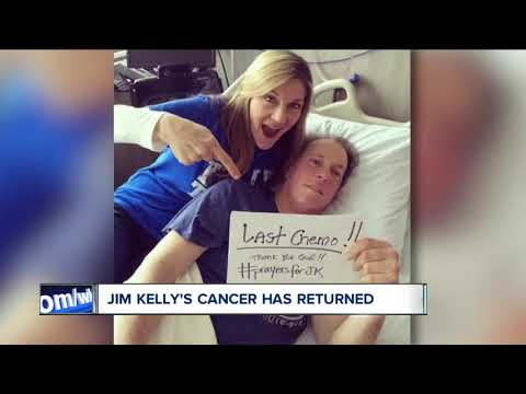 Jim Kelly's cancer is back