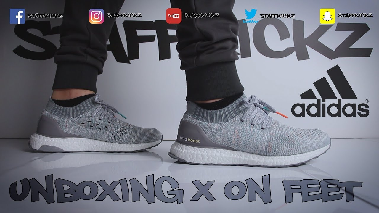 01c671b5a83bf Adidas Ultra Boost Uncaged Multicolor - Unboxing   On Feet - YouTube