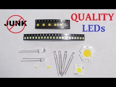 High quality component LEDs reviewed and tested