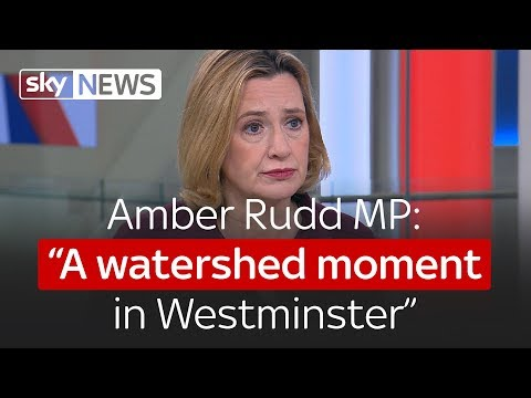 """Amber Rudd MP: """"A watershed moment in Westminster"""""""