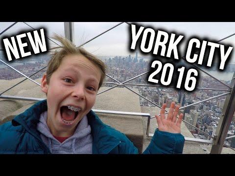 My Trip to New York City!   Travel Video
