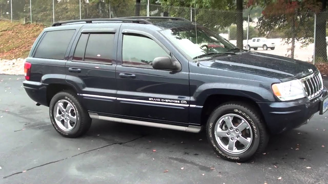for sale 2004 jeep grand cherokee overland navigation doovi. Black Bedroom Furniture Sets. Home Design Ideas