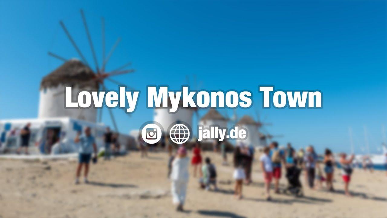 Mykonos Town Day & Night