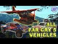 ALL CARS, PLANES, HELICOPTERS, BOATS   Far Cry 5   Customizable
