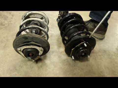 How to Replace Shocks & Struts on a 2002-2006 Nissan Altima