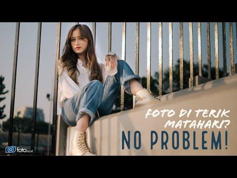 Tips Foto Model Di Terik Matahari | Belajar Fotografi Portrait Outdoor