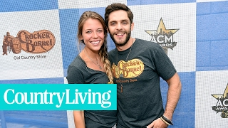 The Real-Life Love Story Behind Thomas Rhett