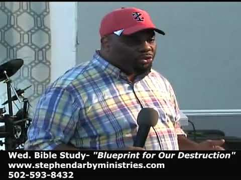 Pastor Stephen Darby - The Blueprint to destroy the Black Family(Hebrews)