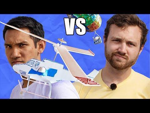 EGG DROP - Peter Sripol vs William Osman