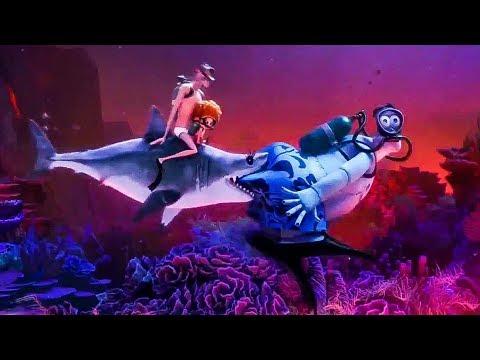 Hotel Transylvania 3 'Shark Bite' Trailer (2018) HD