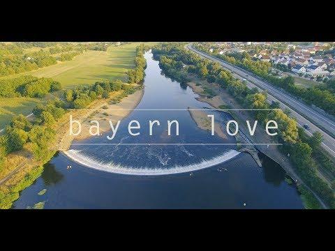bayern love - weiher - drone (4K)