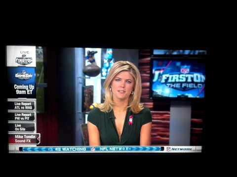 Melissa Stark accidently curses on air.