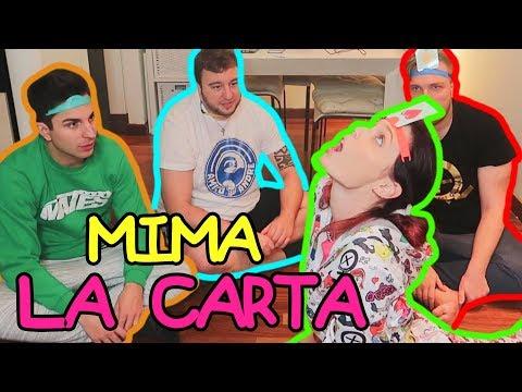 Challenge: MIMA la carta che hai in TESTA! Sabri, Sascha, Andre & Giulio!