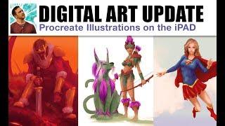 Learning Digital Illustration Update