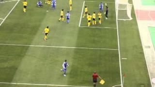 الركنيه الاخيره في مباراه سباهان   Fans Al hilal 2017 Video
