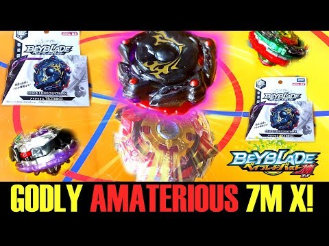 GODLY AMATERIOUS.7M.X VS ALL GOD BEYS + UNBOXING