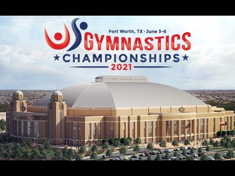 US Championships Women's Gymnastic Session 1