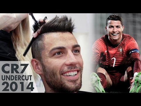Hairstyle like Cristiano Ronaldo ★ CR7 Undercut ★ Mens Hair Inspiration