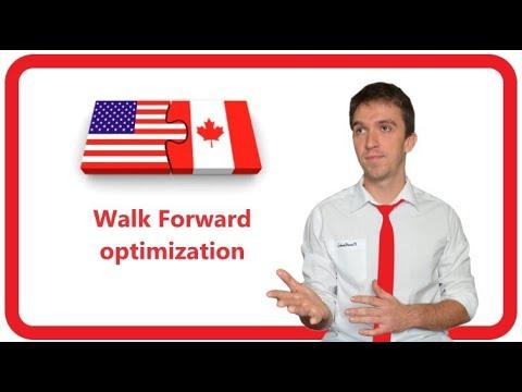 Walk Forward Analysis For Metatrader 4 Youtube