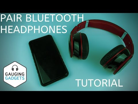 How To Pair Bluetooth Headphones To Phone Android Bluetooth Earbud Pairing Tutorial Youtube