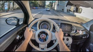Fiat 500c Cabrio | 4K POV Test Drive #332 Joe Black