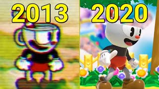 Evolution of Cuphead 2013-2020