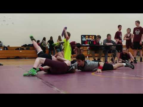 Menomonie Middle School Meet, Match 1