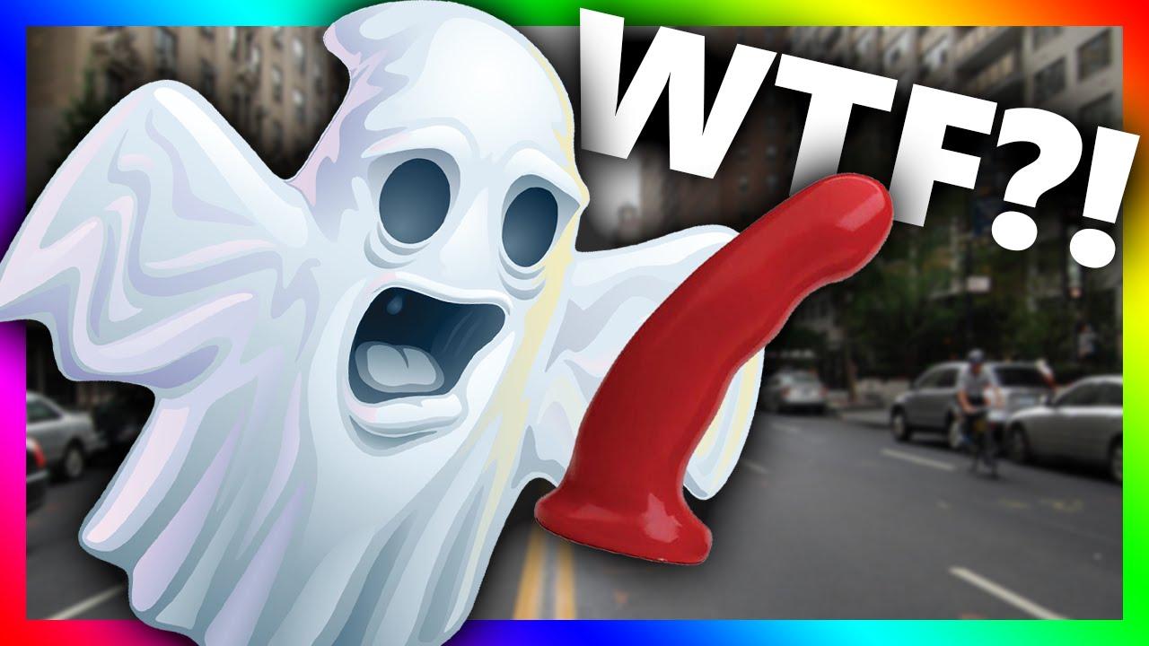 Ghost dildo