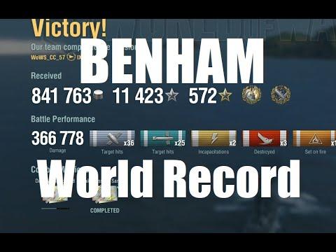Benham - Shattering The World Record