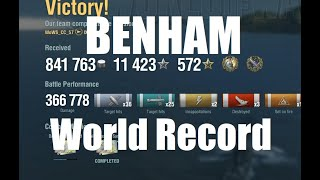 Benham - Shattering The World Record