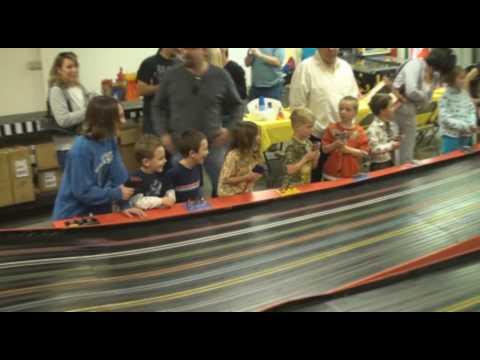 Slot Car Racing Birthday Party