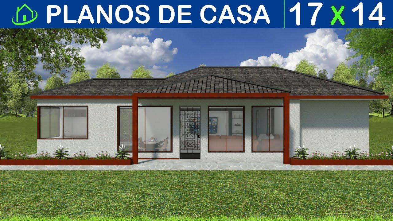 Dise os y planos de casa sencilla 1 piso proyecto cs1p k4 for Planos y disenos de casas gratis