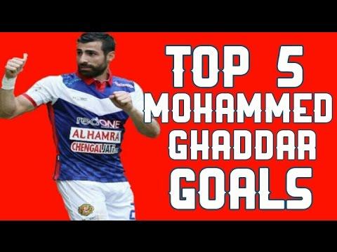 Top 5 Mohammed Ghaddar Goals