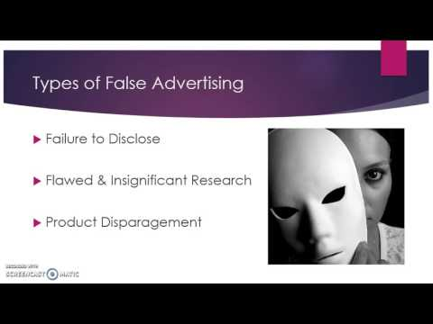 False Advertising and Deceptive Labeling Laws-Hailey Carlson