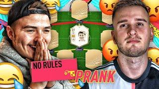 "SQUAD BUILDER BATTLE ""NO RULES"" PRANK 😂😂 ICON BUTRAGUENO FIFA 20"