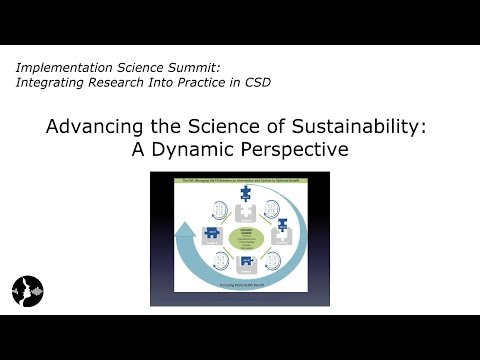 David Chambers: Advancing the Science of Sustainability