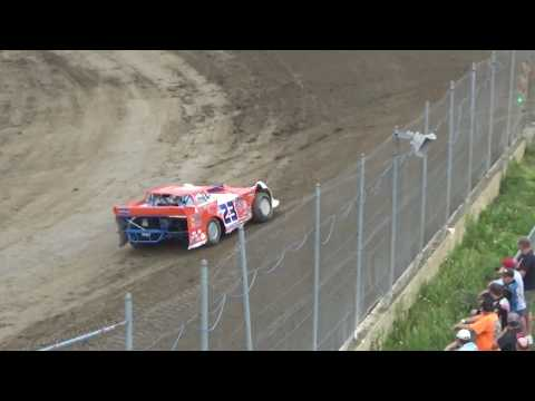 1. Late Model Time Qualifying at I-96 Speedway, Michigan on 05-26-17