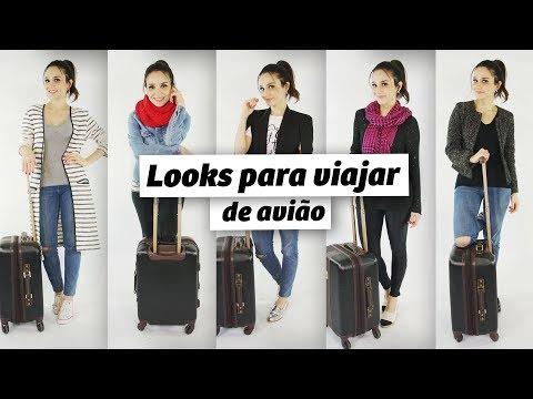 Looks para viajar (muitas horas) de avião #aerolook | Anita Bem Criada